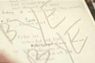 """Heath Ledger e l'inquietante scritta sull'ultima pagina del suo diario: """"Bye bye"""""""