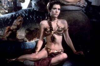 """All'asta il bikini hot della Principessa Leila in """"Star Wars"""", venduto a 96 mila dollari"""