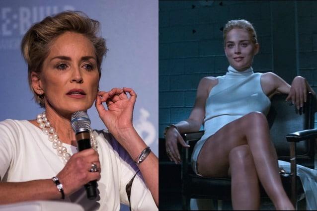 """La denuncia di Sharon Stone: """"Dopo Basic Instinct ho pianto perché nessuno voleva pagarmi"""""""
