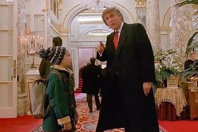 Donald Trump news: tolto anche dal film
