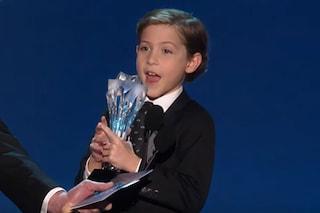 Jacob Tremblay ha solo 9 anni ed ha già vinto i Critics Choice Awards 2016 (VIDEO)