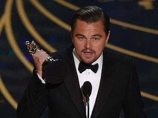 "Oscar 2016 a Leonardo DiCaprio come Miglior attore protagonista per ""Revenant"""