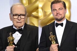 Oscar 2016 sul web: tutti pazzi per Ennio Morricone e Leonardo DiCaprio