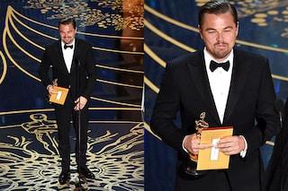 Il dito medio di Leonardo DiCaprio agli Oscar 2016: ha voluto davvero insultare l'Academy?