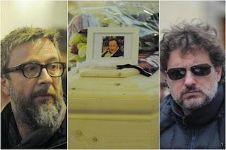 L'ultimo saluto a Giorgio Ariani, ai funerali anche Leonardo Pieraccioni e Marco Masini