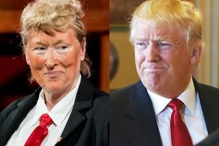 Meryl Streep imita Donald Trump a teatro: la parodia è irresistibile