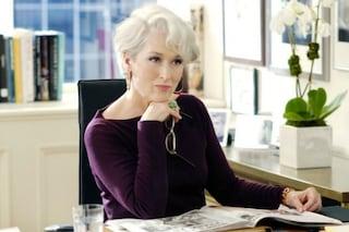 """Meryl Streep: """"Miranda Priestly non è Anna Wintour, ecco come ho creato quel personaggio"""""""