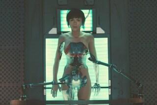 """Scarlett Johansson presenta il primo trailer di """"Ghost in the Shell"""""""
