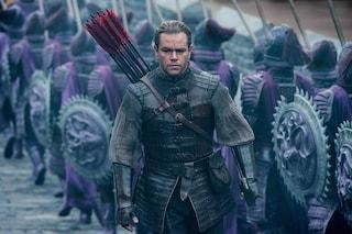 """""""The Great Wall"""": Matt Damon a difesa della Grande Muraglia Cinese"""
