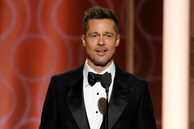 Applausi a Brad Pitt ai Golden Globe, Hollywood è con lui nel divorzio da Angelina