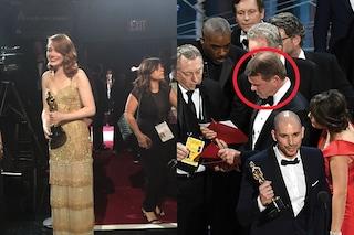 """Oscar 2017, verità sulla gaffe: """"Il responsabile distratto da Emma Stone, ha passato busta sbagliata"""""""