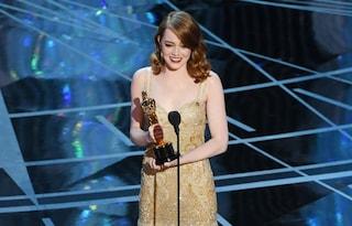 """Oscar 2017 a Emma Stone come Migliore attrice protagonista per """"La La Land"""""""