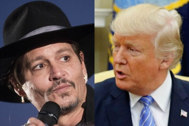 Johnny Depp scherza sull'omicidio di Donald Trump, la Casa Bianca si infuria