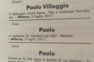 """Renato Pozzetto ricorda l'amico Paolo Villaggio: """"Salutami gli altri, ci vediamo di là"""""""