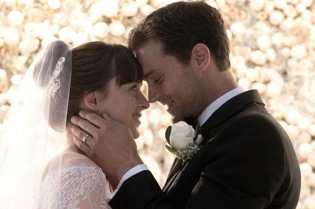 6278989a6 L'ultimo capitolo della storia d'amore tra Christian Grey e Anastasia  Steele, interpretati da Jamie Dornan e Dakota Johnson, l'8 febbraio  sbarcherà nelle ...