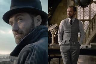 L'Albus Silente di Jude Law è già cult, l'omosessualità del personaggio passa in secondo piano