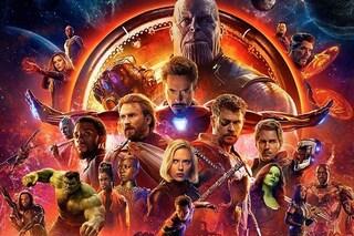 """Gli Avengers spaccano il botteghino: quasi 3 milioni in un giorno per """"Infinity War"""""""