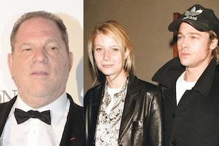 """Gwyneth Paltrow: """"Dopo le molestie di Harvey Weinstein, Brad Pitt lo minacciò di morte per difendermi"""""""