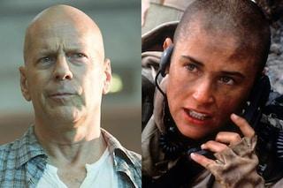 """Demi Moore: """"Con Bruce Willis abbiamo divorziato perché pelata stavo meglio di lui"""""""