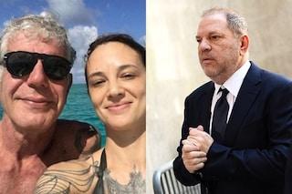 """Harvey Weinstein rompe il silenzio su Asia Argento: """"Lei e Bourdain non erano una coppia aperta"""""""