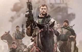 """In """"12 Soldiers"""" Chris Hemsworth guida la missione contro 50.000 talebani"""