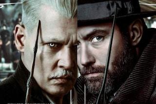 """""""Animali Fantastici: I Crimini di Grindelwald"""", lo spettacolare trailer con Jude Law e Johnny Depp"""