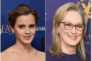 """Le """"Piccole donne"""" sono tornate, prime foto dal set del film con Emma Watson e Meryl Streep"""