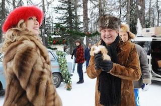 """Curiosità """"A Natale mi sposo"""": il freddo glaciale di St. Moritz ha reso le riprese molto difficili"""
