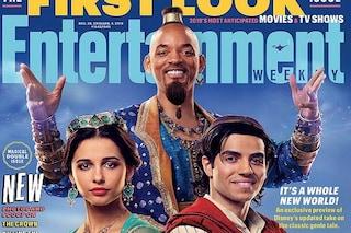 """""""Aladdin"""", ecco il Genio hip hop di Will Smith: """"Sarà un omaggio a Robin Williams"""""""