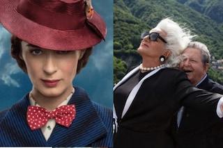 """""""Il ritorno di Mary Poppins"""" batte """"Amici come prima"""" al box office"""