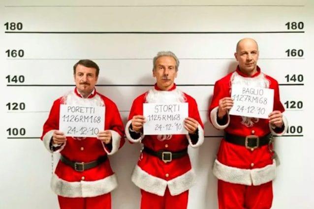 Babbi Natale.Curiosita La Banda Dei Babbi Natale Mina Fan Del Trio