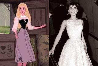 """Curiosità """"La bella addormentata nel bosco"""": Il corpo di Aurora s'ispira a quello di Audrey Hepburn"""