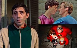 """I 10 film più belli del 2018: al top """"Chiamami col tuo nome"""", """"Dogman"""" e """"Gli Incredibili 2"""""""