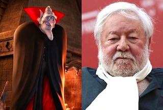 """Curiosità """"Hotel Transylvania 2"""": il vecchio Conte Vlad ha la voce di Paolo Villaggio"""