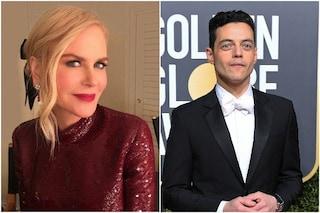 """Rami Malek snobbato da Nicole Kidman, l'attore di Bohemian Rhapsody: """"Momento imbarazzante"""""""