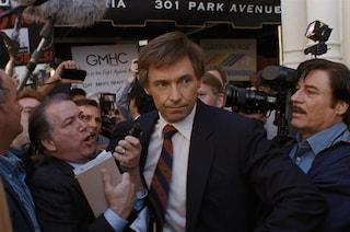"""Hugh Jackman è il senatore Gary Hart in """"The Front Runner – Il Vizio del Potere"""", di Jason Reitman"""