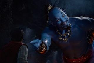 Aladdin: Will Smith è il Genio blu nella nuova clip (e non è doppiato da Gigi Proietti)