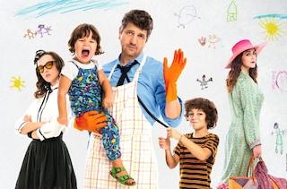 """Fabio De Luigi papà in balìa dei figli in """"10 giorni senza mamma"""", diretto da Alessandro Genovesi"""