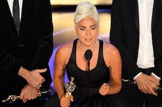"""Il discorso di Lady Gaga agli Oscar 2019: """"Non si tratta di vincere, ma di non arrendersi"""""""