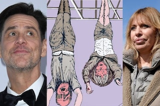 """Jim Carrey contro il fascismo, mostra il Duce e Claretta a testa in giù. La Mussolini: """"Bastardo"""""""