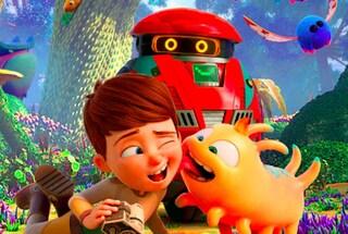 """Nel film """"A spasso con Willy"""", Eric Tosti racconta l'amicizia tra un bimbo, un robot e un alieno"""