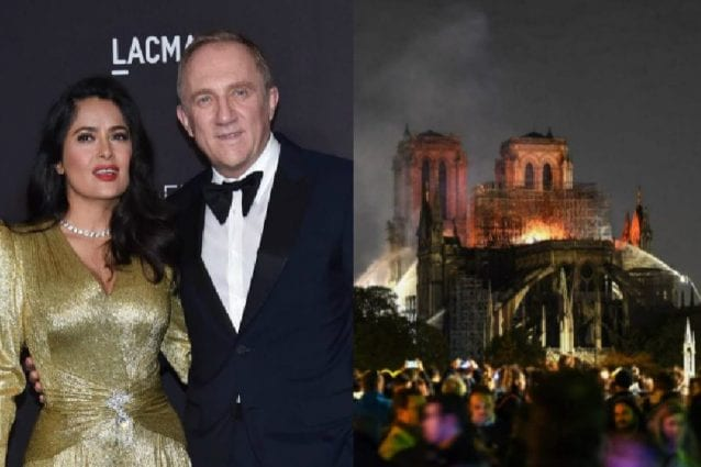 Notre-Dame, Pinault dona 100 milioni