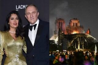 François-Henri Pinault, marito di Salma Hayek, dona 100 milioni per ricostruire Notre Dame