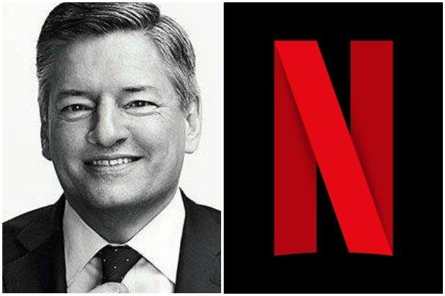 Ted Sarandos, responsabile dei contenuti di Netflix.