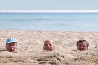 """Tornano Aldo, Giovanni e Giacomo: le prime immagini dal set di """"Odio l'estate"""""""