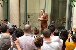 Kevin Spacey torna in pubblico dopo il caso molestie, l'attore a Roma per un evento a sorpresa
