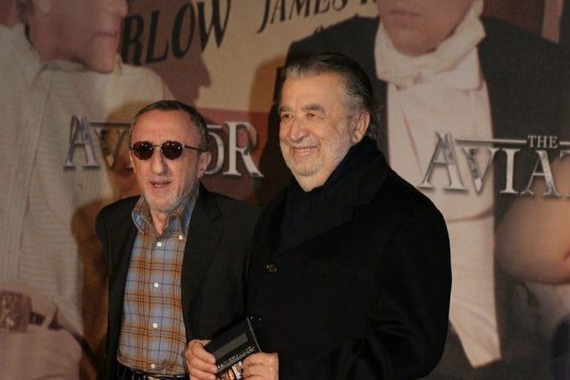 Carlo Delle Piane e Pupi Avati in una foto del 2005