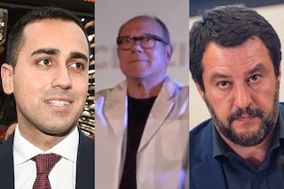 """Carlo Verdone farmacista ad honorem: """"A PD e M5S un calmante, a Matteo Salvini un ricostituente"""""""