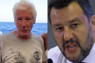 """Richard Gere attacca Matteo Salvini: """"Fa cattiva politica, i migranti hanno i nostri stessi sogni"""""""