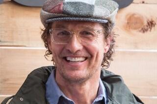 """Matthew McConaughey diventa professore universitario in Texas: """"Insegnerò l'arte di creare un film"""""""